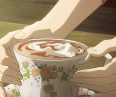Animated gif discovered by i a m p。. Find images and videos about gif and anime food on We Heart It - the app to get lost in what you love. Cat Anime, Anime Gifs, Kawaii Anime, Anime Coffee, Coffee Gif, Coffee Break, Morning Coffee, Anime Bento, Aesthetic Gif
