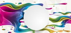 Colorful Paint Splash Background Vector Banner Material, Paint Splatter, Paint, Curve Lines, Background image Free Background Photos, Cartoon Background, Background Banner, Birthday Invitation Background, Rainbow Birthday Invitations, Colorful Frames, Colorful Abstract Art, Graffiti Designs, Resume