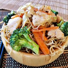 Anyone can make Authentic Chicken Chow Mein noodles, it just takes the right ingredients. What makes my Chicken Chow Mein authentic? Asian Noodle Recipes, Ramen Recipes, Asian Recipes, Cooking Recipes, Healthy Recipes, Ethnic Recipes, Dishes Recipes, Chinese Recipes, Chicken Ramen Recipe