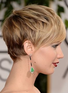 Best Example Of Just How Sexy Short Hair Can Be: Jennifer Lawrence
