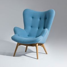 Grant Featherston Style Contour Lounge Chair - Click to enlarge