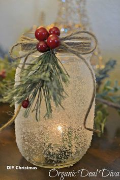 Ideas Diy Christmas Centerpieces Candles Mason Jars For 2019 Thanksgiving Crafts, Christmas Crafts For Adults, Christmas Projects, Holiday Crafts, Christmas Diy, Christmas 2019, Christmas Vacation, Family Christmas, Holiday Ideas