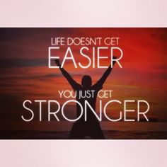 I must be strong. #strength