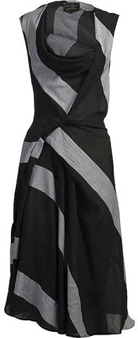 One my favorites: Vivienne Westwood dress. Mine is a steely gray color that I can dress up or down.
