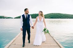 Gorgeous wedding in Syvota Greece Wedding, Real Weddings, Wedding Day, Wedding Dresses, Inspiration, Beautiful, Fashion, Pi Day Wedding, Bride Dresses
