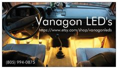VanagonLEDs Door Open and Spice Rack Kit!