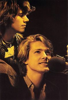 taylor hanson, zac hanson. Sorry issac but my heart lies with these two!