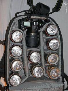 Vybavení fotobatohu