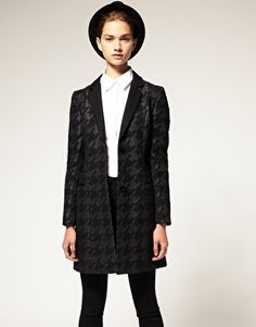 £120.00 Dogtooth Coat