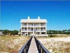 VRBO.com #467195 - 7 Bed/5.5 Bath/ Pool -East End Gulf Front - 4 King Masters, Elevator