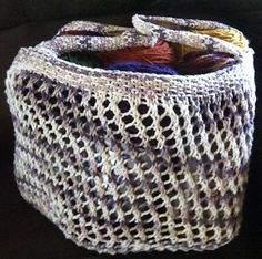 3. my favorite summer pattern: West Side Market Bag free knit bag pattern by Corrie Purdum