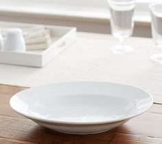 Great White Oval Veggie Bowl #potterybarn $20.00 & EMERILu0027S TABLE BY GORHAM White Covered Baker | Kitchen Stock ...
