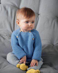 Modèle Brassière Zazie Baby Knitting Patterns, Baby Patterns, Marie Claire, Dream Baby, Baby Vest, Garter Stitch, Baby Boy Newborn, Cute Babies, Embroidery