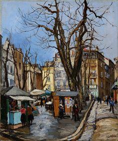 Marcel François Leprin  (1891 – 1933) Montmartre