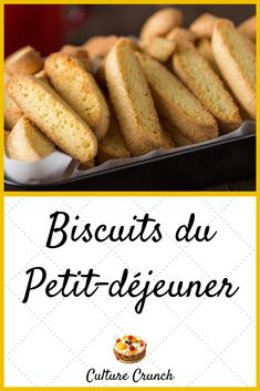 Biscotti, Biscuit Cookies, Dog Cookies, French Food, Pasta, Hot Dog Buns, Sweet Recipes, Chicken Recipes, Brunch