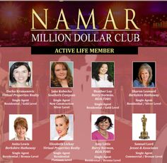 Karen Lickay Realty Group at the 2015 North Atlanta Metro Association of Realtors Million Dollar Club awards ceremony.