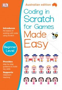 Book Cover:  Coding in Scratch for Games Made Easy
