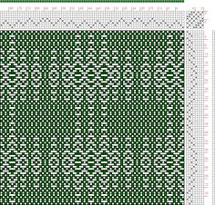 Hand Weaving Draft: cw101064, Crackle Design Project, 8S, 8T - Handweaving.net Hand Weaving and Draft Archive