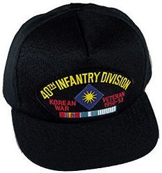 Duty Honor Country Korean War Veteran Embroidery Embroidered Beanie Hat Cap
