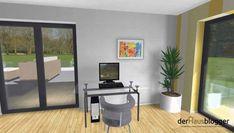Stadtvilla 224m2 3D10 House Plans, Divider, Windows, How To Plan, Room, Furniture, Home Decor, House Design Plans, Home Plans