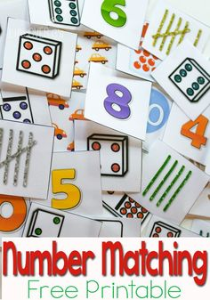 Practicing numbers is a blast with this free printable numbers to 10 activity for preschoolers! There are so many different ways to show each number!