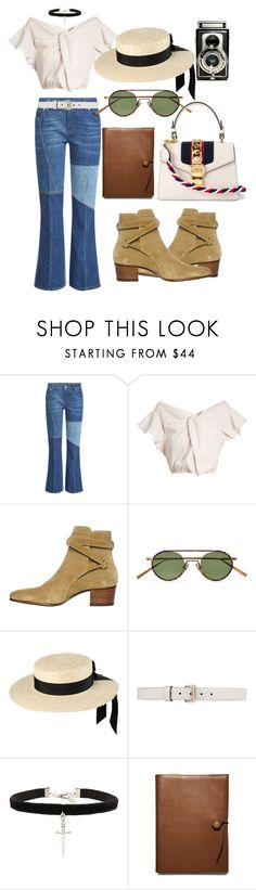 """""""Untitled #667"""" by veronice-lopez ❤ liked on Polyvore featuring Alexander McQueen, Rachel Comey, Yves Saint Laurent, Acne Studios, Mich Dulce, Gucci, Vanessa Mooney, Coach and vintage"""