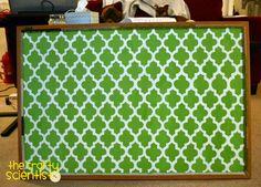 painted bulletin board