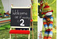 Sock Monkey party.