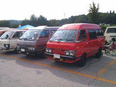 Nissan, 4x4 Van, Camper Van, Old Cars, Toyota, Vans, Trucks, Japan, Vehicles
