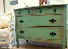 refinishing furniture is a great idea. Think about this the next time that you are considering tossing out that old drawer!