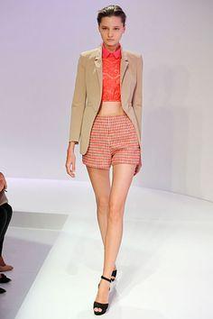 Paris Fashion Week Carven Spring 2012
