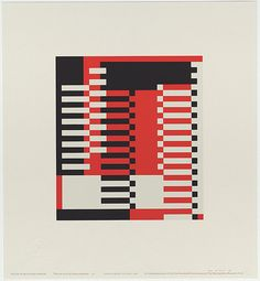 Josef Albers - Untitled (The aim of life is living creatures. The aim of art is living creations).