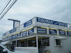 Thomas' Donuts in Laguna Beach (Panama City Beach) Florida is one of the best places on earth!