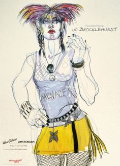 Remembering Jo Brocklehurst, the Artist Who Documented London's 1980s Anarcho-Punk Squatters