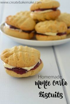 Homemade Thermomix Monte Carlo Biscuits