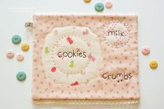 Another cute cookie snack mat.
