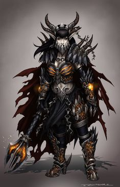 Lady Deathwing by NosuriCosplay | Deathwing Cosplay | Pinterest