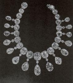 IMPERIAL RUSSIAN DIAMOND RIVIÈRE~ belonged to Empress Maria Feodorovna. Necklace…