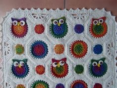Owl Obsession Babyblanket
