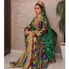 Moroccan Bride, Moroccan Caftan, Indian Fashion Dresses, Caftan Dress, Stylists, Saree, Wedding Dresses, Womens Fashion, Clothes