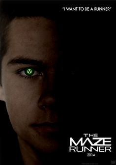 Thomas I Character Poster/Fanmade | The Maze Runner | Book series by James Dashner |
