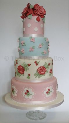beautiful vintage pink things | The Pink Cake Box Blog Tag Duck Egg Blue | The Pink Cake Box Blog