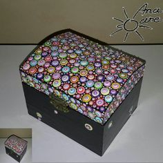 Acrylic Painting Tips, Dot Painting, Painted Wooden Boxes, Hand Painted, Candle Box, Altered Boxes, Mandala Painting, Small Boxes, Box Frames
