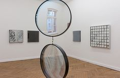 artnet Galleries: Rhythmus und Materie (Installation View) by Adolf Luther from 401contemporary