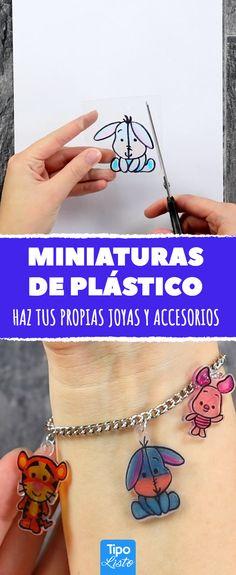 Un clásico de la niñez: miniaturas hechas de envolturas de plástico. #miniaturasdeplastico #joyashechasencasa #accesorios #hazlotumismo #manualidades #joyasdeplastico #accesorios