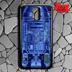 R2d2 Robot Sketch Before Samsung Galaxy S5 Black Case