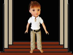14 inch doll pants and shirt / Hearts 4 Hearts / H4H / Heart 4 Hearts by kkdesignerdolls on Etsy https://www.etsy.com/listing/485278822/14-inch-doll-pants-and-shirt-hearts-4