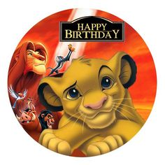The Lion King Edible Image Real Icing personalised Cake Topper image 0 Le Roi Lion Disney, Disney Lion King, Lion King Birthday, Baby Boy Birthday, Images Roi Lion, Lion King Cupcakes, Arte Do Mickey Mouse, Lion King Drawings, Lion King Pictures
