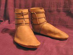 Tuto chaussures médiévales
