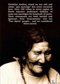 Absolutely beautiful. Two spirit people